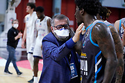 Presidente Vanoli Barford Jaylen<br /> Vanoli Cremona - Lavoropiu Fortitudo Bologna<br /> Legabasket Serie A UnipolSAI 2020/2021<br /> Bologna, 14/04/2021<br /> Foto A.Giberti / Ciamillo-Castoria