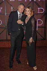 Jean Christophe Babin, Isabella Ferrari attend the Bvgalri Gala Dinner held at the Stadio dei Marmi in Rome, Italy on June 28, 2018. Photo by Marco Piovanotto/ABACAPRESS.COM