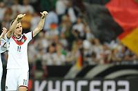 Fotball<br /> Privatlandskamp<br /> Tyskland v Armenia<br /> 06.06.2014<br /> Foto: Witters/Digitalsport<br /> NORWAY ONLY<br /> <br /> Schlussjubel Miroslav Klose (Deutschland)<br /> Fussball, Testspiel, Deutschland - Armenien 6:1