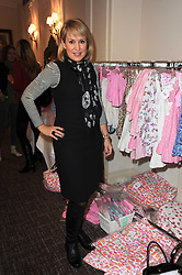 NICKI CHAPMAN at a shopping afternoon hosted by Amanda Kyme and Tamara Beckwith featuring designs from Elizabeth Hurley held at the Cadogan Hotel, 75 Sloane Street, London SW1 on 23rd November 2010.