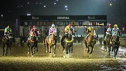 Páreo de 1.600m para produtos de 4 anos vitórias com o tempo de 1m49s. FOTO: Jefferson Bernardes/ Agência Preview