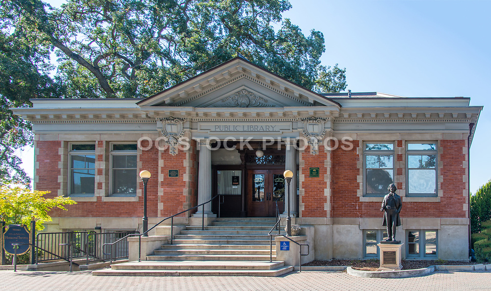 Paso Robles Carnegie Public Library at City Park in Paso Robles