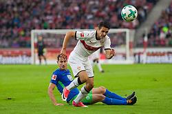 September 16, 2017 - Stuttgart, Germany - Stuttgarts Josip Brekalo tries to get the ball / Bundesliga match VfB Stuttgart vs VfL Wolfsburg, September 16, 2017. (Credit Image: © Bartek Langer/NurPhoto via ZUMA Press)