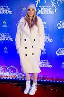 Arabella Chi at the  Hyde Park Winter Wonderland launch, London, UK - 20 Nov 2019