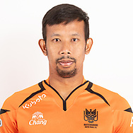 THAILAND - JUNE 24: Pathomchai Seaisakul #31 of Ratchaburi Mitr Phol FC on June 24, 2019.<br /> .<br /> .<br /> .<br /> (Photo by: Naratip Golf Srisupab/SEALs Sports Images/MB Media Solutions)