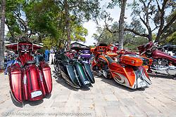 Perewitz Paint Show at the Broken Spoke Saloon during Daytona Beach Bike Week, FL. USA. Wednesday, March 13, 2019. Photography ©2019 Michael Lichter.