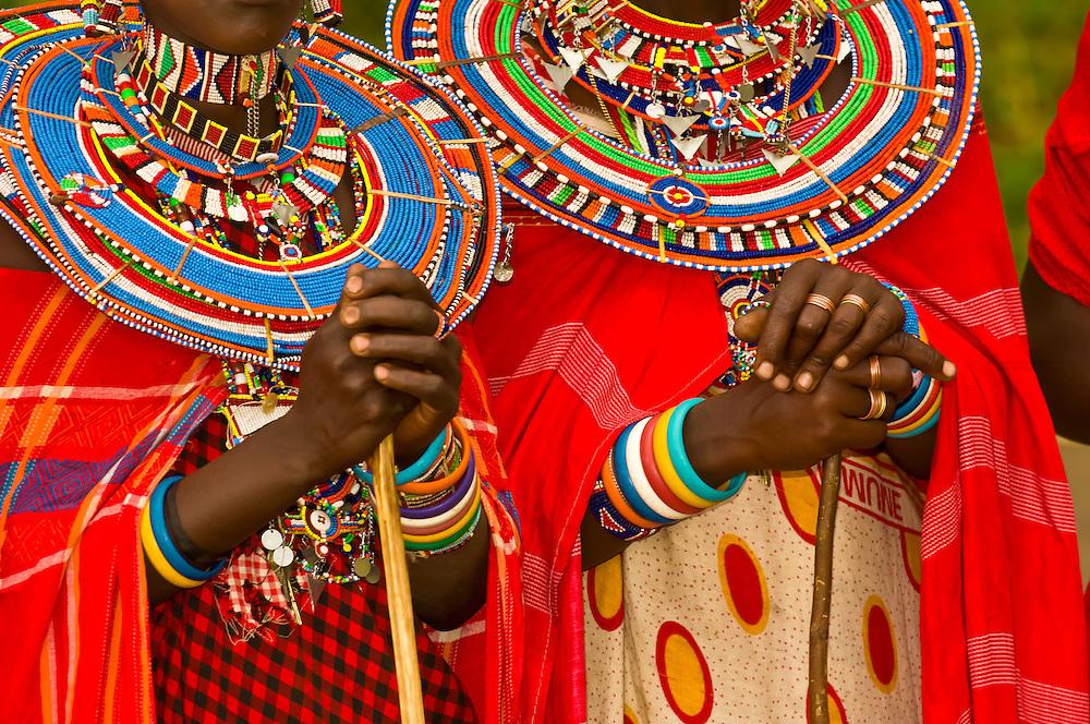 Maasai women, Amboseli National Park, Kenya