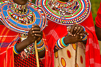 Maasai women, Amboseli National Park, Kenya