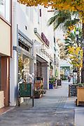 Shops on Colorado Boulevard in Pasadena California