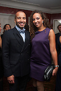 PRINCESS ALIA AL-SENUSSI; ABDULLAH AL-TURKI, Dinner to celebrate the opening of Pace London at  members club 6 Burlington Gdns. The dinner followed the Private View of the exhibition Rothko/Sugimoto: Dark Paintings and Seascapes.