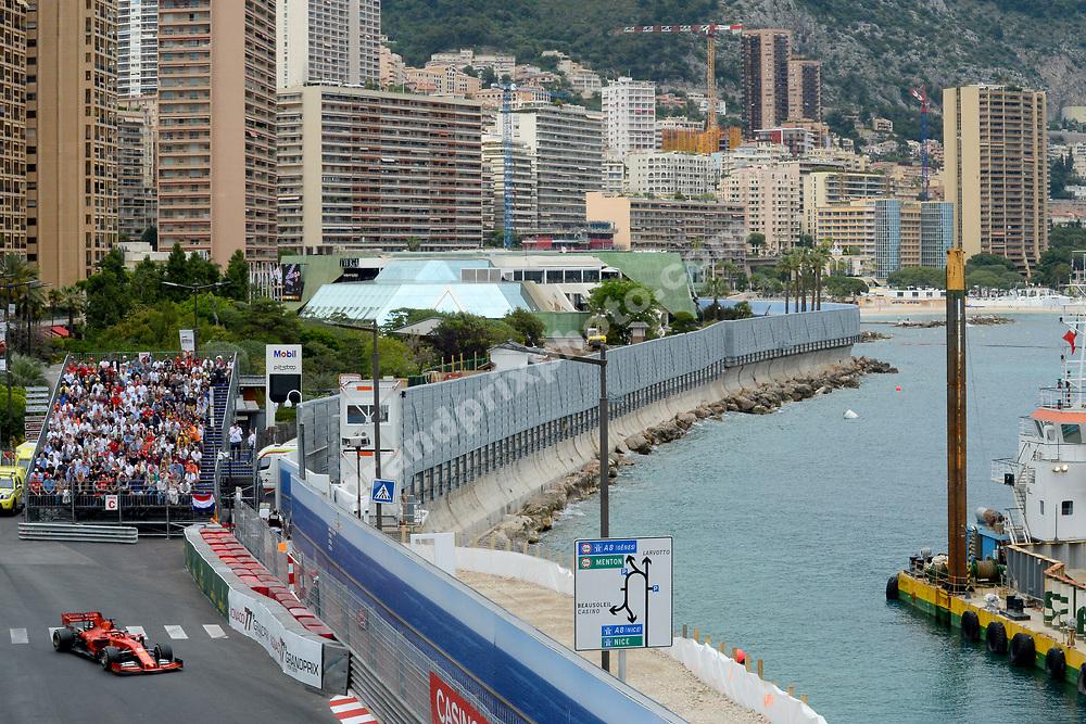 Sebastian Vettel (Ferrari) during the 2019 Monaco Grand Prix. Photo: Grand Prix Photo