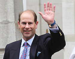 The Earl of Wessex leaving The London Clinic after visiting his father the Duke of Edinburgh who spent his 92nd birthday in hospital in London, Monday, 10th June 2013<br /> Picture by Stephen Lock / i-Images