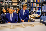 AMSTERDAM - King Willem-Alexander and the President of the Republic of Cape Verde, Jorge Carlos de Almeida Fonseca visit the Maritime Museum. The Cape Verdean president is in the Netherlands for a two-day state visit. ROBIN UTRECHT