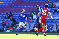 Cardiff City's Harry Wilson (23) calls for the ball during the EFL Sky Bet Championship match between Cardiff City and Nottingham Forest at the Cardiff City Stadium, Cardiff, Wales on 2 April 2021.