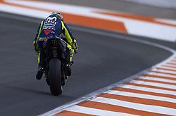 November 21, 2018 - Valencia, Spain - Valentino Rossi (46) of Italy and Yamaha Factory Racing during the test of the new MotoGP season 2019 at Ricardo Tormo Circuit in Valencia, Spain on 21th Nov 2018  (Credit Image: © Jose Breton/NurPhoto via ZUMA Press)