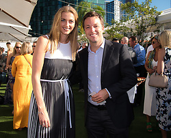 January 13, 2019 - Melbourne, AUSTRALIA - Petra Kvitova of the Czech Republic with agent Marijn Bal on the red carpet of the Crown IMG Tennis Party ahead of the 2019 Australian Open Grand Slam tennis tournament (Credit Image: © AFP7 via ZUMA Wire)