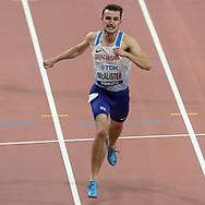 Chris McAlister (Great Britain), 400 Metres Hurdles Men - Round 1, Heat 5, during the 2019 IAAF World Athletics Championships at Khalifa International Stadium, Doha, Qatar on 27 September 2019.