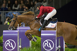 Clarke Ashlee (USA) - Chela LS<br /> Longines FEI World Cup™ Jumping Final 2013/2014<br /> Lyon 2014<br /> © Dirk Caremans