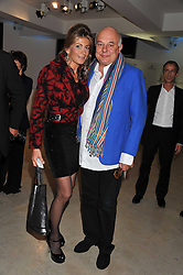 ROLF & MARYAM SACHS at Arts for Human Rights gala dinner in aid of The Bianca Jagger Human Rights Foundation in association with Swarovski held at Phillips de Pury & Company, Howick Place, London on 13th October 2011.