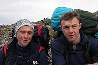Fjolls til fjells: To menn på tur, two men out on a hike