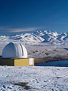 The University of Canterbury's Mount John Astronomical Observatory near Lake Tekapo, New Zealand.
