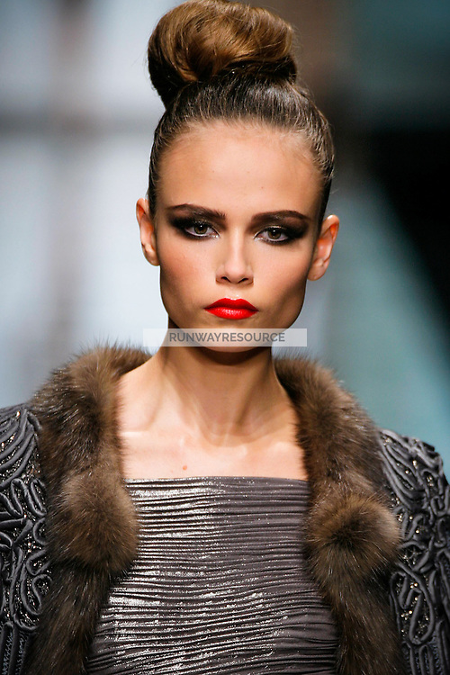 Natasha Poly wearing Valentino - Fall 2007 Couture
