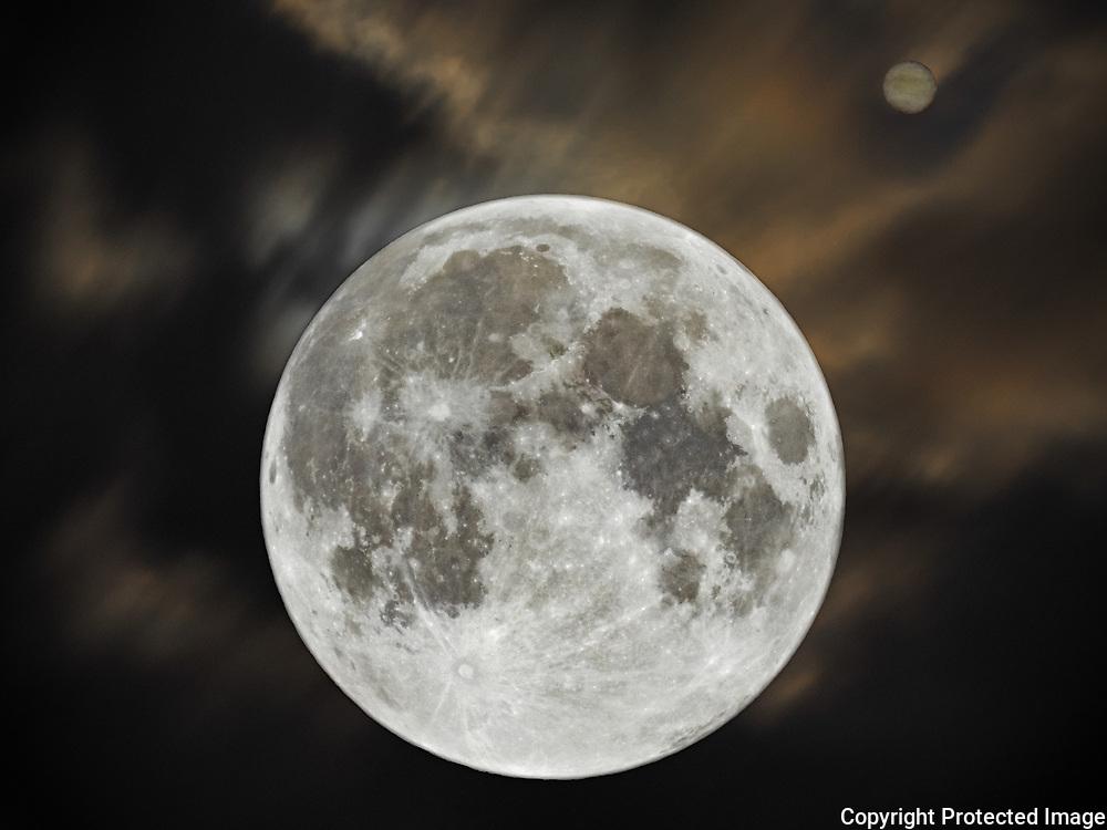 Moon Jupiter Conjunction <br /> 16 Jun 19<br /> Cheyenne, Wyoming