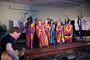 The South African Gospel choir performing in St Matthews Hall, part of the 2019 Guildford Songfest