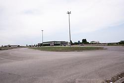 Sava, Taranto. Rotatoria in periferia derl paese