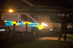 ©Licensed to London News Pictures 11/12/2019. <br /> Addiscombe,UK. Police forensics officer arriving. A child has been rushed to hospital after being seriously burnt at a Christmas event at Our Lady of Annuncation Church, Addiscombe, Croydon, South East London. A police cordon is in place at the church. Photo credit: Grant Falvey/LNP