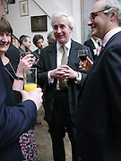 Hugo Vickers, 1812 Napoleon's Fatal March on Moscow by Adam Zamoyski book launch. Avenue Studios. Fulham Rd. 5 April 2004. ONE TIME USE ONLY - DO NOT ARCHIVE  © Copyright Photograph by Dafydd Jones 66 Stockwell Park Rd. London SW9 0DA Tel 020 7733 0108 www.dafjones.com