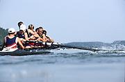Hazewinkel. BELGIUM,  1997  USA M8+, Silver Medalist, USA JM8+. Bow.  Rick BOOMS, Tyler BECK, Scott PROPER, Chris SKOWRONEK, Mike FILIPIAK, Karl SUDAR, Darryl CRAWFORD, Lucas MCGEE, and cox Michael SKEY,  competing at the FISA Junior World Rowing Championships. Course, Bloso Rowing Centre, Heindonk, Willebroek, Mechelen, Belgium.<br /> <br /> <br /> [Mandatory Credit; Peter Spurrier/Intersport-images] 1997 Junior World Rowing Championships, Hazewink