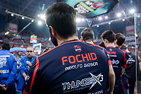 "Baskonia ThunderX3 coach Adolfo Biosca ""Fochid"" during Semi Finals match of 2017 King's Cup at Fernando Buesa Arena in Vitoria, Spain. February 18, 2017. (ALTERPHOTOS/BorjaB.Hojas)"