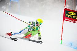 Aljaz Dvornik of Slovenia competes during 1st run of Men's GiantSlalom race of FIS Alpine Ski World Cup 57th Vitranc Cup 2018, on March 3, 2018 in Kranjska Gora, Slovenia. Photo by Ziga Zupan / Sportida