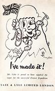 Mount Everest 1953 British first ascent advert - sugar cubes