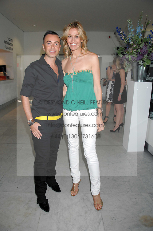JULIEN MACDONALD and MELISSA ODABASH at a reception hosted by Vogue magazine to launch photographer Tim Walker's book 'Pictures' sponsored by Nude, held at The Design Museum, Shad Thames, London SE1 on 8th May 2008.<br /><br />NON EXCLUSIVE - WORLD RIGHTS