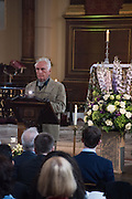 TERENCE STAMP, A Service of Thanksgiving for the life of RAPHAEL B JAGO. The Actors' Church , St.  Paul's Covent  Garden. London. 2 June 2015