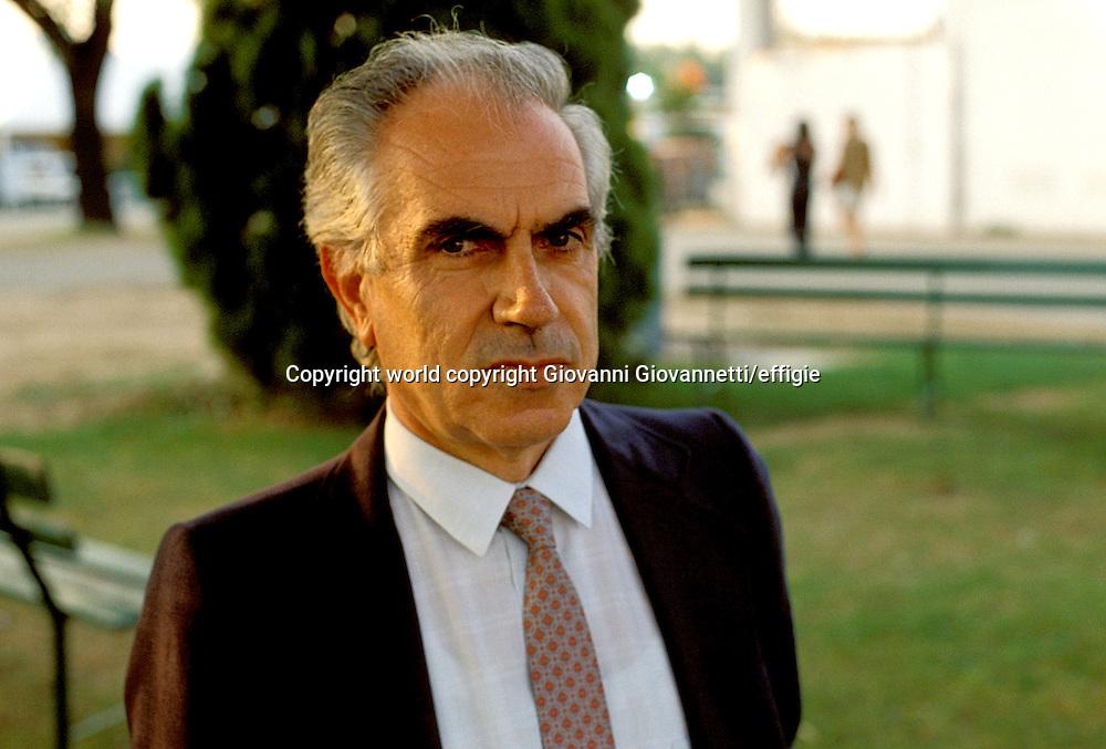 Mario Tronti <br />world copyright Giovanni Giovannetti/effigie / Writer Pictures<br /> <br /> NO ITALY, NO AGENCY SALES / Writer Pictures<br /> <br /> NO ITALY, NO AGENCY SALES