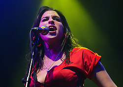 Amy Winehouse performs live on stage at the Shepherds Bush Empire in London.<br />©suzan/allactiondigital.com