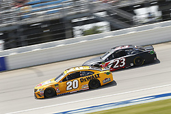 July 1, 2018 - Joliet, Illinois, United States of America - Erik Jones (20) battles for position during the Overton's 400 at Chicagoland Speedway in Joliet, Illinois  (Credit Image: © Justin R. Noe Asp Inc/ASP via ZUMA Wire)
