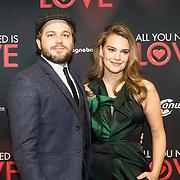 NLD/Amsterdam/20181126 - premiere All You Need Is Love, Eva laurenssen en Teun Luijkx