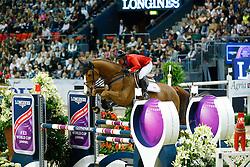 Solem Callan, (USA), VDL Wizard<br /> Longines FEI World Cup Jumping Final II<br /> © Dirk Caremans