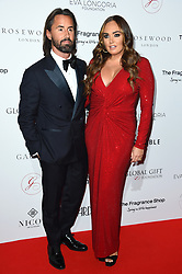 Jay Rutland and Tamara Ecclestone attending the 9th Annual Global Gift Gala held at the Rosewood Hotel, London. Picture date: Friday November 2nd 2018. Photo credit should read: Matt Crossick/ EMPICS Entertainment.