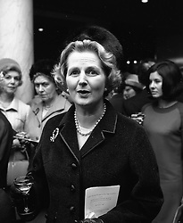MARGARET THATCHER at the Woman of the Year Lunch at The Savoy Hotel, London on 10th October 1966.