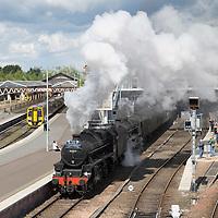 Cathedrals Express Steam Train