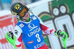 29.12.2014, Hohe Mut, Kühtai, AUT, FIS Ski Weltcup, Kühtai, Slalom, Damen, 2. Durchgang, im Bild Kathrin Zettel (AUT) // Kathrin Zettel of Austria reacts after 2nd run of Ladies Giant Slalom of the Kuehtai FIS Ski Alpine World Cup at the Hohe Mut Course in Kuehtai, Austria on 2014/12/29. EXPA Pictures © 2014, PhotoCredit: EXPA/ Erich Spiess