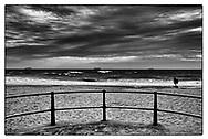 Boscombe Beach, Dorset, England - 20 October 2020