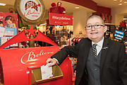 Thirteen-year-old Make-A-Wish kid Reece King mails his letter to Santa as part of Macy's Believe campaign on National Believe Day Friday, Dec. 11, 2015, in Macy's Oxmoor in Louisville, Ky. (Brian Bohannon/AP Images for Macy's)