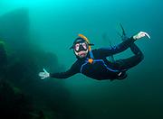Free diver at Dutch S., Bethlehem, Pennsylvania