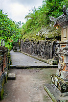 Bali, Gianyar, Yeh Pulu.  The relief is 25 meter long and 2 meter high.